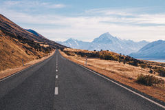 Mount Cook landscape Royalty Free Stock Photo