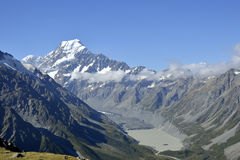 Mount Cook landscape, New Zealand. Stock Photos