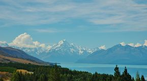 Mt Cook, New Zealand Landscape Stock Photos