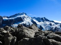 Mount Cook National Park is a real gem royalty free stock photo