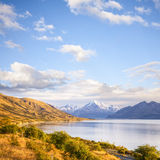 Mount Cook New Zealand. Mount Cook on a beautiful sunny autumn day Royalty Free Stock Photography