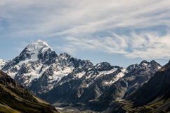 Mount Cook, New Zealand. A New Zealand landmark Royalty Free Stock Photo