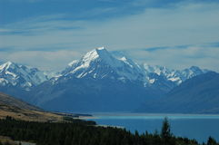 Mount Cook, New Zealand Stock Image