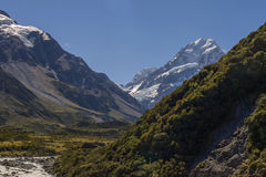 Mount Cook In New Zealand Royalty Free Stock Images