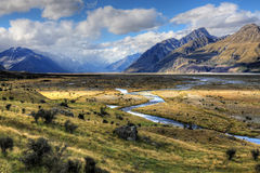 Mount Cook, New Zealand Royalty Free Stock Image