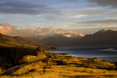 Mount Cook New Zealand. National Park Southern Alps Royalty Free Stock Photos