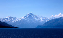Mount Cook New Zealand. National Park Southern Alps Stock Images