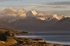 Mount Cook New Zealand. National Park Southern Alps Royalty Free Stock Image