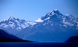 Mount Cook New Zealand. National Park Southern Alps Stock Photos
