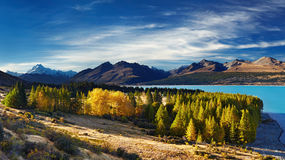 Mount Cook, New Zealand Stock Photos