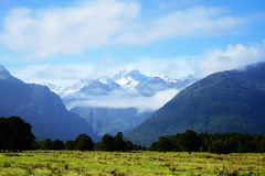 Mount Cook in New Zealand. Mount Cook on New Zealand's South Island. photo was taken on:2016.5.8 Royalty Free Stock Photos