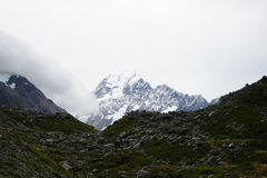 Mount Cook in New Zealand. Mount Cook on New Zealand's South Island. photo was taken on:2016.5.8 Royalty Free Stock Photo