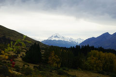 Mount Cook in New Zealand. Mount Cook on New Zealand's South Island. photo was taken on:2016.5.8 Stock Photography