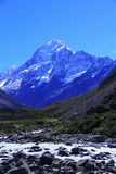 Mount Cook, New Zealand. Royalty Free Stock Photography