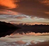 Mount Cook New Zealand Sunrise Royalty Free Stock Photos