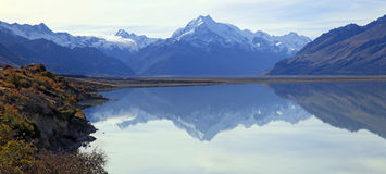 Mount Cook Panorama Royalty Free Stock Photo