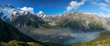 Mount Cook Panorama Stock Photos