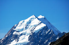 Mount Cook Summit Stock Image