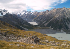 Mount Cook range Royalty Free Stock Image