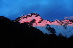 Mount Cook Scenery Royalty Free Stock Photo