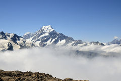 Mount Cook view, New Zealand. Royalty Free Stock Image
