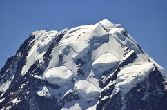 Mount Cook view, New Zealand. Royalty Free Stock Images