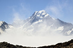 Mount Cook view, New Zealand. Stock Image