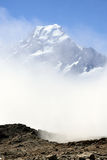 Mount Cook view, New Zealand. Royalty Free Stock Photo