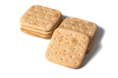 Mount cookies. On white isolated background Royalty Free Stock Image
