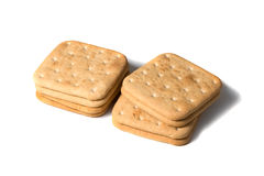 Mount cookies. On white isolated background Royalty Free Stock Photo