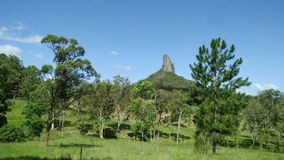 Mount Coonowrin Glasshouse Mountains Royalty Free Stock Photo
