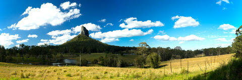 Mount Coonowrin Panorama Royalty Free Stock Photography