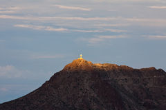 Mount Cristo Rey Stock Images