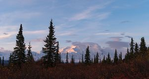 mount Denali, Alaska stock foto