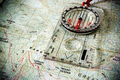 Mount Despair with Compass Stock Images