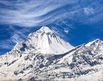 Mount Dhaulagiri, view from Thorung La pass Stock Photo