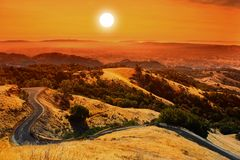MOunt Diablo Royalty Free Stock Photo