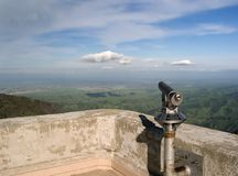 Mount Diablo and Telescope Stock Photo