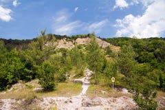 Mount Dohlenstein Royalty Free Stock Photo