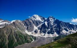 Mount Donguz-Orun, glacier Seven. Elbrus, Caucasus Royalty Free Stock Image
