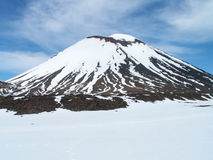 Mount Doom Crater Royalty Free Stock Photos