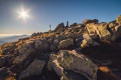 Mount Dumbier, Low Tatras, Slovakia Royalty Free Stock Photography