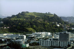 Mount Eden in Auckland New Zealand NZ Royalty Free Stock Photos