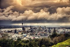 Mount Eden Auckland stock images