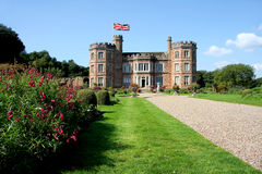 Mount Edgcumbe castle, Plymouth, UK Stock Photo