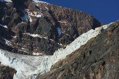 Mount Edith Cavell with Angel Glacier Stock Photos