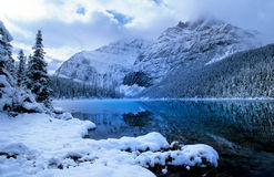 Mount Edith Cavell, Canadian Rockies Royalty Free Stock Photo