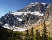 Mount Edith Cavell, Rocky Mountains Royalty Free Stock Photo