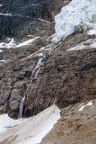 Mount Edith Cavell. Scenic mountain hiking views, Mount Edith Cavell Jasper National Park British Columbia Canada stock photo