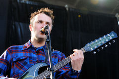 Mount Eerie band, performs at Heineken Primavera Sound 2013 Festival Royalty Free Stock Images